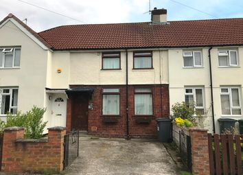 Thumbnail 2 bed terraced house for sale in Oteley Avenue, Bromborough, Wirral