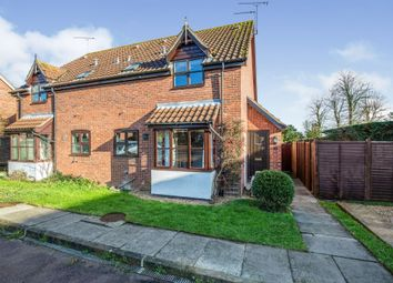 Thumbnail 1 bed semi-detached house for sale in Noyes Avenue, Laxfield, Woodbridge