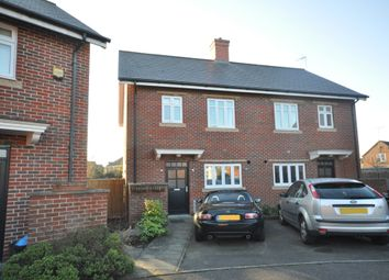 Thumbnail 3 bed semi-detached house for sale in Gabriels Square, Lower Earley, Reading