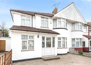 Thumbnail 5 bed semi-detached house for sale in Jersey Avenue, Stanmore, Middlesex