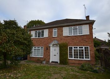 Thumbnail 4 bed detached house to rent in Rufford Close, Church Crookham, Fleet