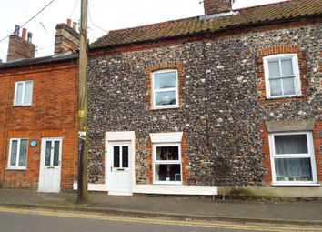 Thumbnail 1 bed terraced house for sale in Cley Road, Swaffham