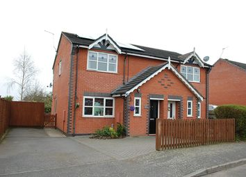 Thumbnail 3 bed semi-detached house for sale in Kendal Road, Sileby, Loughborough