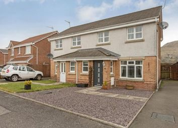 Thumbnail 3 bed semi-detached house for sale in Glentye Drive, Tullibody, Alloa, Clackmannanshire