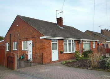 Thumbnail 3 bed semi-detached bungalow for sale in Broadway, North Hykeham, Lincoln