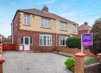 Thumbnail 3 bed semi-detached house for sale in The Avenue, Coxhoe, Durham