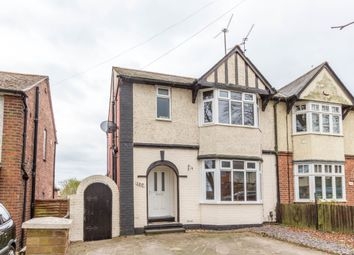 Thumbnail 3 bed semi-detached house for sale in Finedon Road, Wellingborough