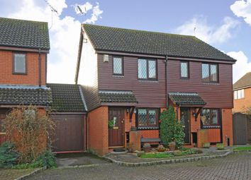 Thumbnail 2 bedroom semi-detached house for sale in Windlesham, Surrey