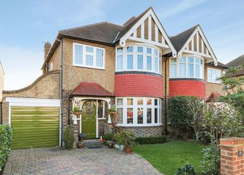 Thumbnail 3 bed semi-detached house for sale in Kings Drive, Berrylands, Surbiton