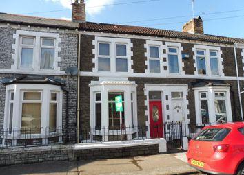 Thumbnail 2 bed terraced house for sale in Railway Street, Splott, Cardiff