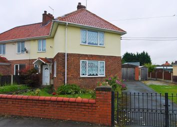 Thumbnail 3 bed semi-detached house for sale in Cross Street, Langold, Worksop
