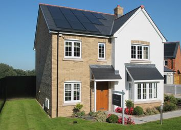 Thumbnail 4 bed detached house for sale in The Quarters, Manadon, Plymouth