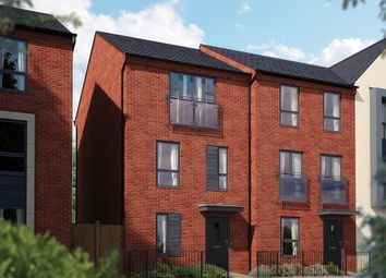 "Thumbnail 3 bed town house for sale in ""The Calverton"" at Limousin Avenue, Whitehouse, Milton Keynes"
