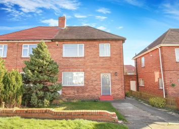 Thumbnail 3 bed semi-detached house to rent in Chipchase Avenue, Cramlington