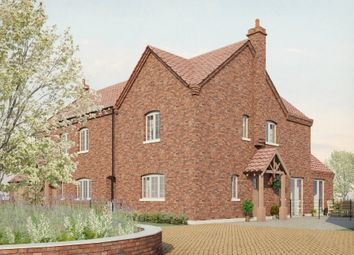 Thumbnail 3 bed link-detached house for sale in Plot 3, Old Hall Gardens, Screveton