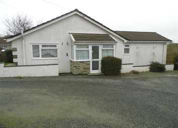 Thumbnail 3 bed detached bungalow to rent in Tiny Meadows, South Petherwin, Launceston