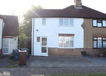 Thumbnail 3 bed semi-detached house to rent in Greenway, Pinner