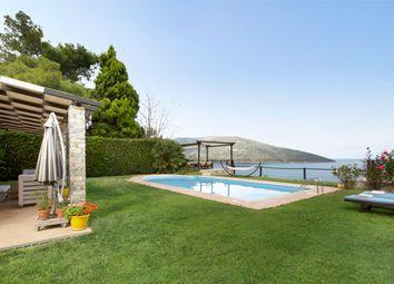 Thumbnail Villa for sale in Beachfront Villa For Sale In Greece Near Athens, Greece