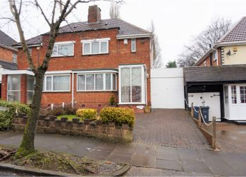 Thumbnail 2 bed semi-detached house for sale in Hilltop Road, Birmingham