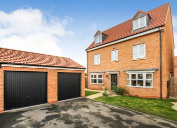Thumbnail 5 bed detached house for sale in Black Lane, South Milford