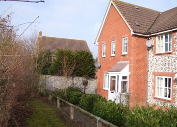 Thumbnail 3 bed end terrace house for sale in Bittern Road, Saxmundham