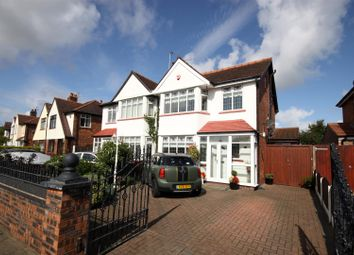 Thumbnail 4 bed semi-detached house for sale in Lexton Drive, Southport