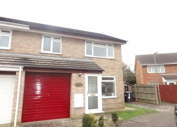 Thumbnail 3 bedroom semi-detached house to rent in Braishfield Gardnes, Bournemouth