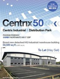 Thumbnail Commercial property for sale in Centrix 50, Phoenix Parkway, Corby, Northants