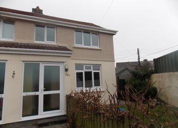 Thumbnail 2 bed semi-detached house to rent in Enys Road, Camborne