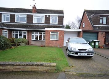 Thumbnail 3 bed semi-detached house for sale in Gillam Butts, Countesthorpe, Leicester