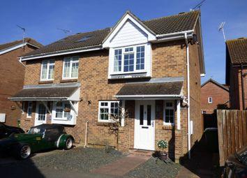 Thumbnail 3 bed semi-detached house for sale in Derwent Close, Littlehampton