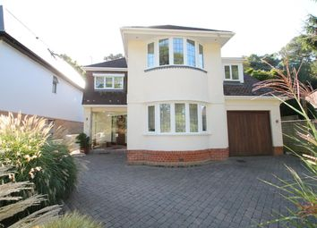 Thumbnail 4 bedroom detached house for sale in Elgin Road, Lilliput, Poole
