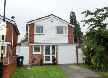 Thumbnail 3 bed detached house for sale in Overton Close, Hall Green, Birmingham