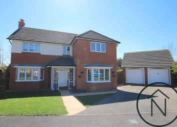 Thumbnail 4 bed detached house for sale in Bloomesley Close, Newton Aycliffe