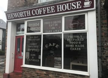 Thumbnail Restaurant/cafe for sale in East Parade, York