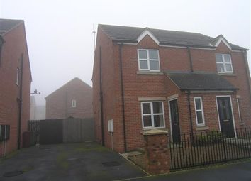Thumbnail 2 bed semi-detached house to rent in Friars Road, Scunthorpe