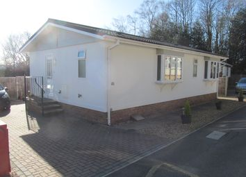 Thumbnail 2 bed mobile/park home for sale in Dolleys Hill Park, Pirbright Road, Normandy, Guildford, Surrey