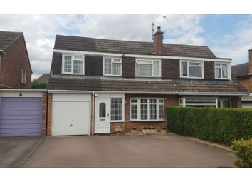 Thumbnail 4 bed semi-detached house for sale in Monks Drive, Studley