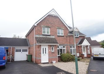 Thumbnail 3 bed semi-detached house for sale in Stryd Hywel Harris, Ystrad Mynach, Hengoed