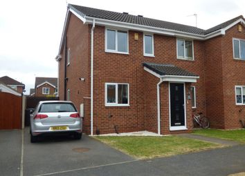 Thumbnail 2 bedroom semi-detached house to rent in Bosworth Way, Long Eaton, Nottingham