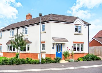 Thumbnail 3 bed semi-detached house for sale in Aller Mead Way, Williton, Taunton