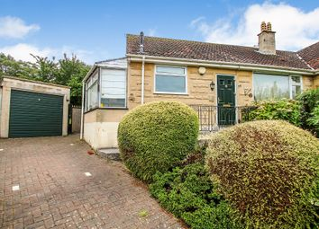 Thumbnail 2 bedroom semi-detached bungalow for sale in Holcombe Close, Bath