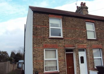 Thumbnail 2 bed terraced house to rent in Bayly Road, Dartford