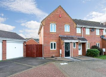 Thumbnail 3 bed end terrace house for sale in Parolles Close, Heathcote, Warwick
