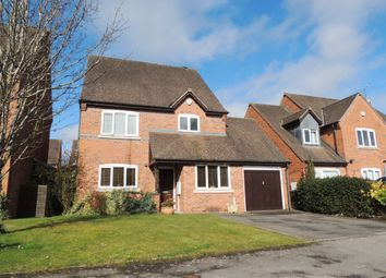 Thumbnail 4 bed detached house for sale in Highfield, Warwick