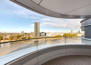 Thumbnail 2 bedroom flat to rent in Tower One, The Corniche, Albert Embankment, London