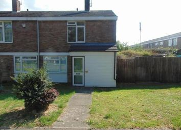Thumbnail 2 bedroom end terrace house to rent in Yardley, Basildon