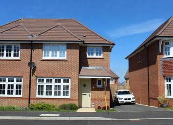 Thumbnail 3 bedroom semi-detached house for sale in Moorbridge Road, Moulton, Northampton