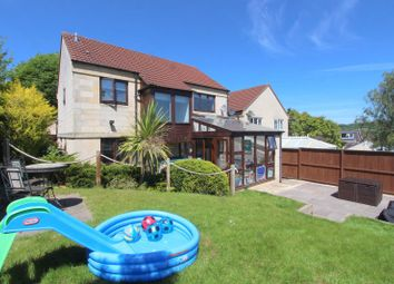 Thumbnail 4 bed detached house for sale in Marshfield Way, Bath