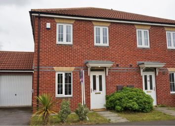 Thumbnail 3 bedroom semi-detached house for sale in Carrigill Drive, Newcastle Upon Tyne